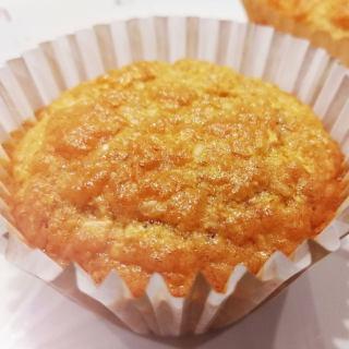 无油无糖燕麦麸小蛋糕