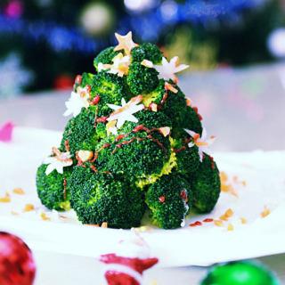 西兰花圣诞树