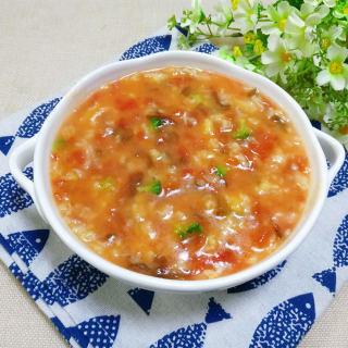 番茄紫菜疙瘩汤