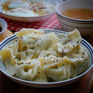西兰花鲜肉饺子