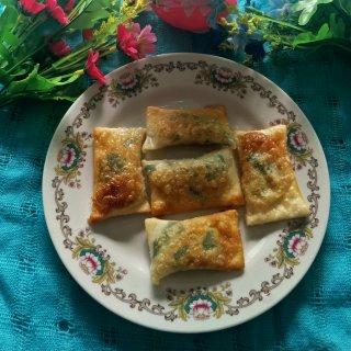 菲菜虾米春卷