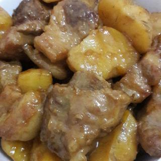土豆烧排骨(懒人版)