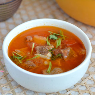番茄牛腩煲