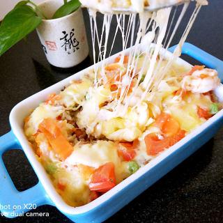 鲜虾�h饭