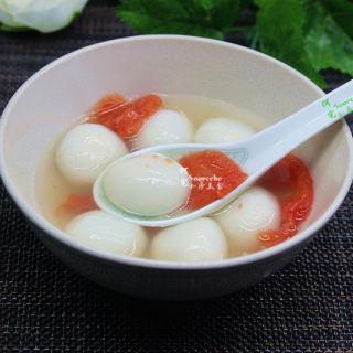 西红柿煮汤圆