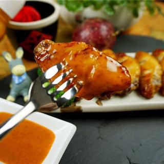 百香果泰式煎鸡翅