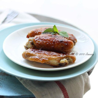 肉酱烤鸡翅