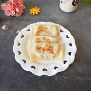 馄饨皮香蕉饼