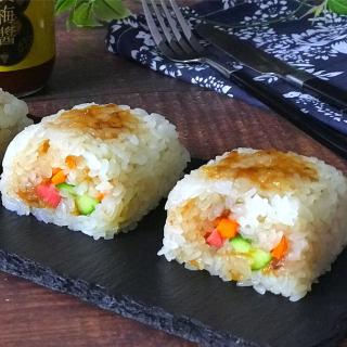 黄梅酱粢饭团