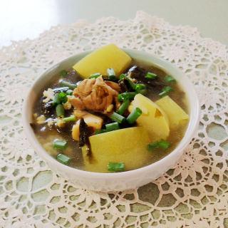 海带冬瓜薏米汤