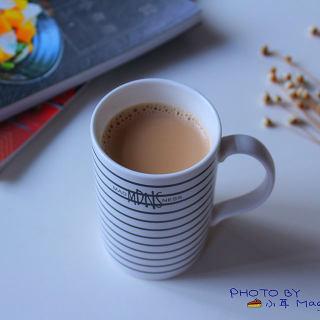 自制港式红豆奶茶(豆浆机板)