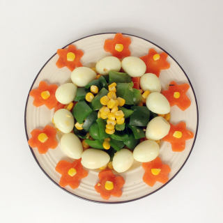 七彩鹌鹑蛋