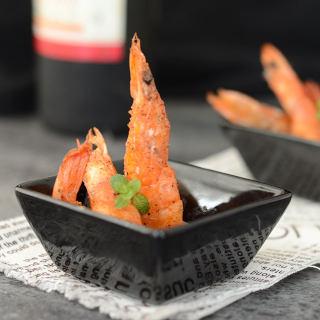 橄榄油黑椒煎大虾