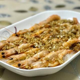 蒜蓉粉丝大虾