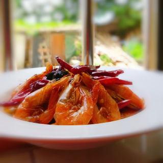 麻辣香锅虾