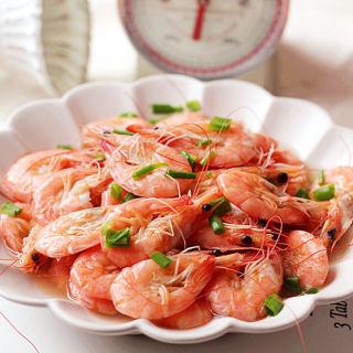 夏日清爽小菜盐水虾