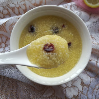 蔓越莓小米粥
