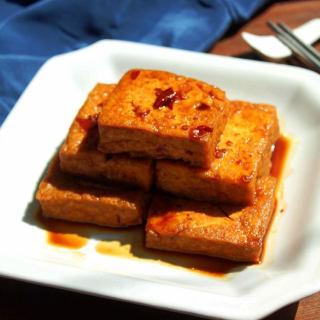 红烧臭豆腐