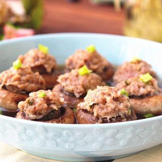 鲜肉�蘑菇
