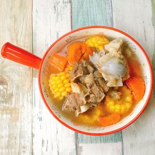 快手玉米胡萝卜汤