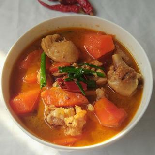 胡萝卜炖鸡块―电压锅版