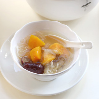 红枣南瓜银耳汤