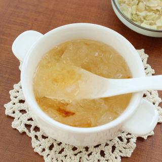 桃胶银耳皂角米