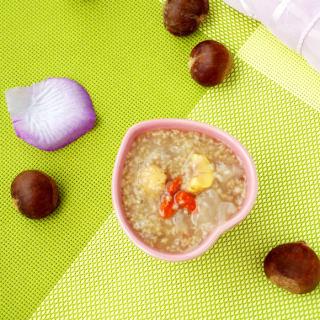 板栗银耳小米粥