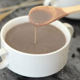 银耳百合黑豆浆