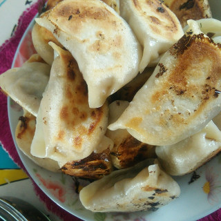 茴香牛肉煎饺