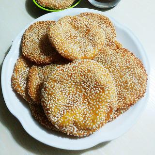 简易芝麻南瓜饼