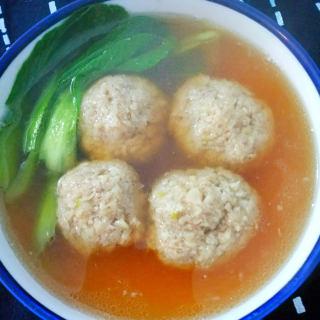 马蹄肉丸汤