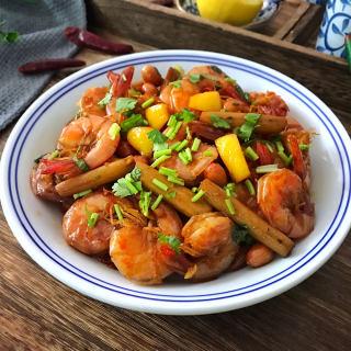 金牌五味虾