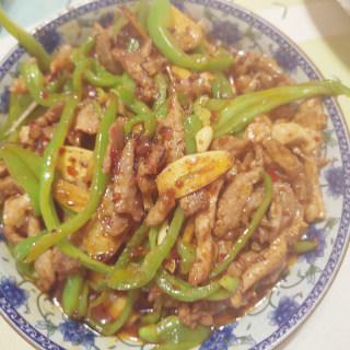 青椒肉丝(家常版)