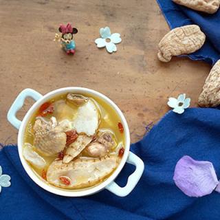 天麻山药炖鸡汤