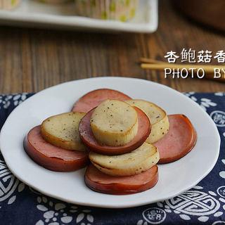 杏鲍菇香肠片