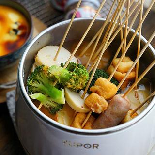生蚝蒸蛋串串锅