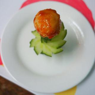 茄汁黄瓜肉丸