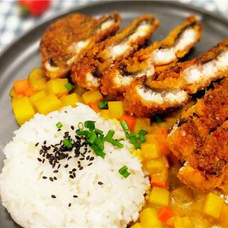 咖喱鳗鱼饭