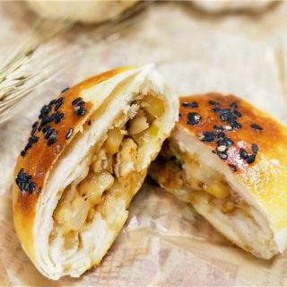 鳗鱼油酥烧饼