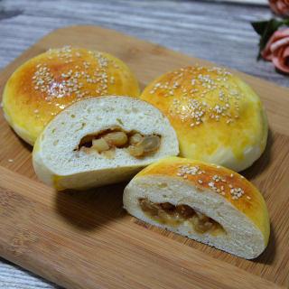 肉桂苹果面包