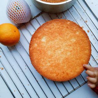 橙汁戚风蛋糕