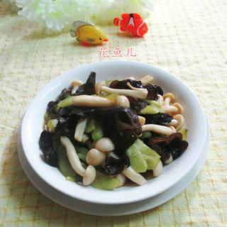 菌菇炒青瓜