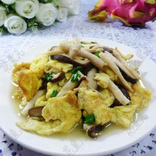 双菇炒鹌鹑蛋