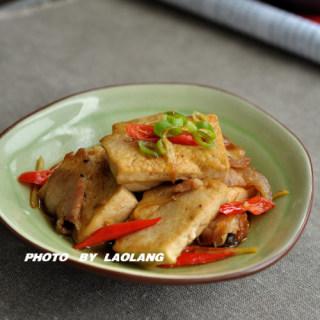 家常小炒豆腐