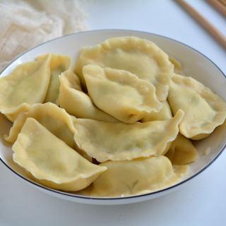 韭菜豆腐猪肉饺子