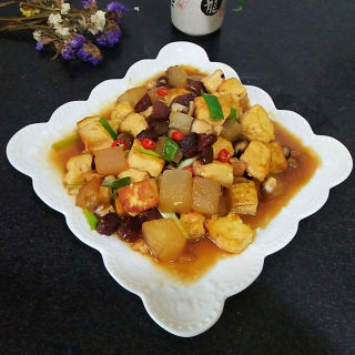 红酒冬瓜豆腐
