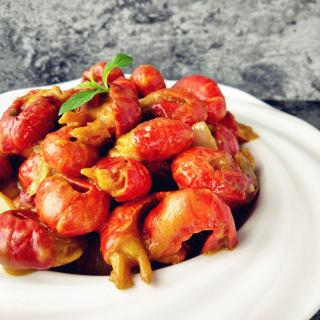 咖喱龙虾尾