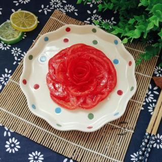 糖撒番茄花