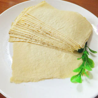 自制健康豆腐皮